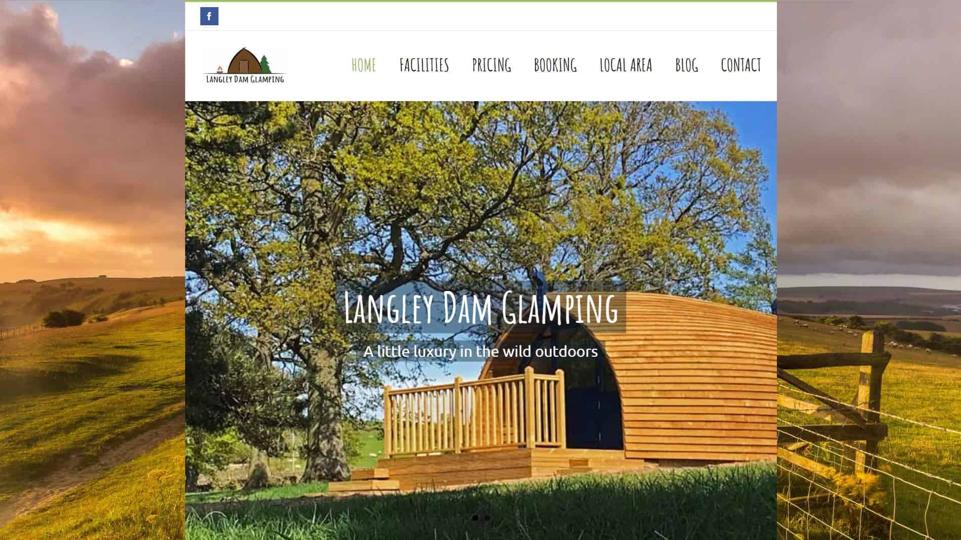 Good luck to Langley Glamping