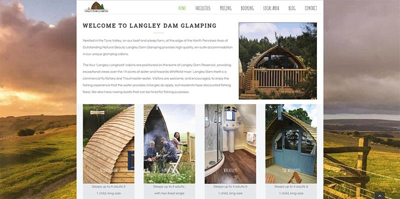 Langley Dam Glamping – professional photos